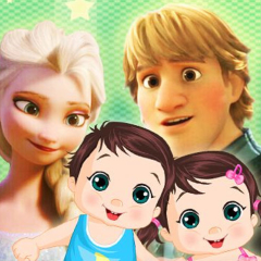 Jogo Tome Conta dos Gémeos Frozen