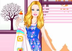 Vista a Barbie Babá