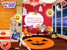 Vista a Barbie estilo Halloween - screenshot 1