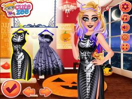Vista a Barbie estilo Halloween - screenshot 2