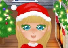 Vista a Menina no Natal