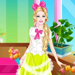 Jogo Vista a Barbie Florista