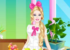 Vista a Barbie Florista