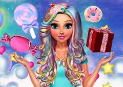 Vista Katie Com Estilo Candy